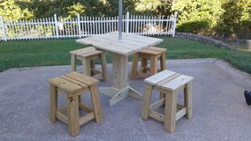 Picnic Table and Stools in Fort Campbell, Kentucky