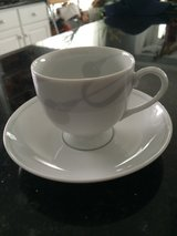 Mikasa cups and saucers-fine china 16 piece in Plainfield, Illinois