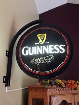 Guiness Beer Double Sided Pub Sign in Aurora, Illinois