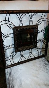 Rustic Brown Iron Mirror in Fort Campbell, Kentucky