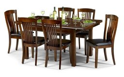 Dining Set Canterbury in Mahogany Finish - monthly payments possible in Ansbach, Germany