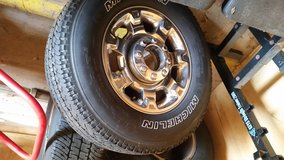 Ford F250 Rims and Tires in Fort Polk, Louisiana
