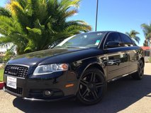 2008 AUDI A4 Blacked Out in Fort Irwin, California