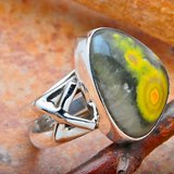 Eclipse Natural Stone Ring in Macon, Georgia
