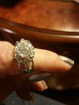 Lovely Sterling Silver Bridal Ring in Warner Robins, Georgia