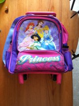 princess back pack with wheels in Perry, Georgia