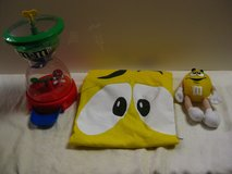 M&M T-Shirt with candy dispenser and stuffed toy(c) in Okinawa, Japan