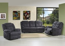 Plaza Recliner Living Room Set - monthly payments possible in Ansbach, Germany
