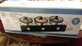 New / Slow Cooker Buffet in Fort Campbell, Kentucky