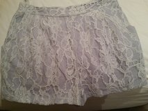 Adorable lavender lace PEPPERMINT shorts in Macon, Georgia