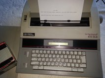 Smith Carona Portable Electric Memory Typewriter with extra ribbon in New Lenox, Illinois