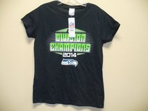 SEAHAWKS 2014 Division Champions Women's Medium T-shirt (NAVY) *** NEW w/tags *** in Fort Lewis, Washington
