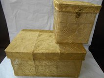 Gold Decorative Gift Boxes in Spring, Texas