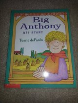 Big Anthony His Story book in Camp Lejeune, North Carolina