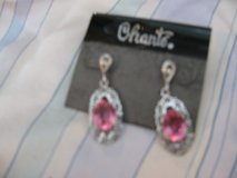 Chante Pink Ice Earring Set in Camp Lejeune, North Carolina