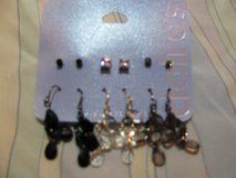 6 Piece Claire's Earring Set in Camp Lejeune, North Carolina