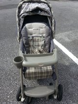 Eddie Bower stroller. in Okinawa, Japan