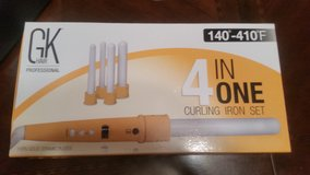 (New)GK Hair professionals 4 in one curling iron in Alamogordo, New Mexico