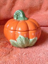 Ceramic Pumpkin Candle Holder in Houston, Texas