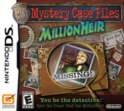 Mystery Case Files: MillionHeir by Nintendo in Fort Campbell, Kentucky