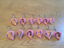 Disney Princess Shower Curtain hooks in Fort Bliss, Texas
