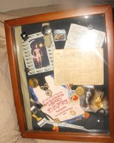 One Of A Kind Shadowbox Art WWII tHEME ORIGINAL 1940'S iTEMS Inside. in Springfield, Missouri