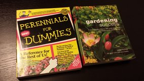 Lot of 2 Gardening Books in Sugar Grove, Illinois