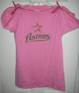 RARE Womens PINK Houston Astros Baseball Shirt Small in Kingwood, Texas