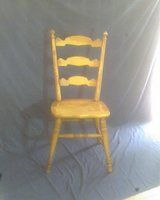 REDUCED AGAIN! 70 yr old country kitchen chair. in Cleveland, Texas