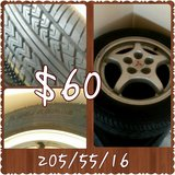 1 mitsubishi rim and tire in Lawton, Oklahoma