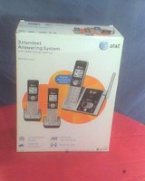 REDUCED! AT&T 3 Handset Answering System in Conroe, Texas