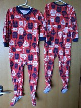 4T Carter's footed fleece sleeper Pj.(3pcs.) in Okinawa, Japan