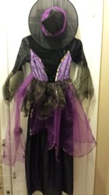 Girls size lg. Witch costume in Beaufort, South Carolina