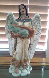 Indian Angel with Baby in Conroe, Texas