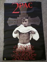 2pac Poster in Fort Benning, Georgia