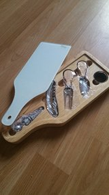 Wine and Cheese Glass Cutting Board and Tools in Joliet, Illinois