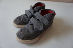 Boys Carters Grey High Top Shoes Size 10 in Lockport, Illinois