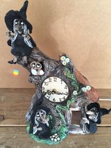 David taylor pottery..witches clock.. in Lakenheath, UK