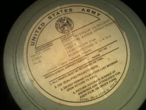 Vintage US Army Artillery Training Film With Case in Fort Campbell, Kentucky