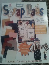 Scrapbooking paper stack in Naperville, Illinois