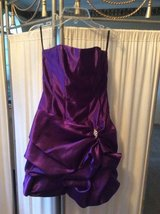 ***GORGEOUS Strapless Purple Formal Gown*** SZ Small 0 in Katy, Texas