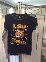 ***Ladies Black & Gold LSU L/S Shirt***SZ Medium in Houston, Texas
