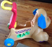 Baby/toddler (9M- 3 yrs) Fisher-Price laugh and learn stride to ride puppy in Macon, Georgia