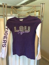***Child's LSU L/S Shirt W/Rhinestones***SZ 12 in Katy, Texas