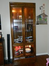 Lighted Drexel Heritage Curio/China Cabinets in Chicago, Illinois