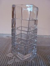 Heavy lead crystal vase in Kingwood, Texas
