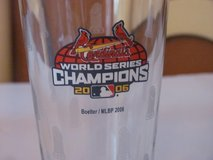 St. Louis Cardinals World Series Champions 2006 Glass in Kingwood, Texas