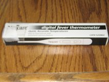 Nexcare Digital Fever Thermometer  (Brand New) in Houston, Texas