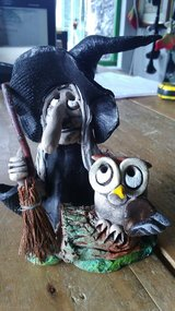 Witch by David taylor pottery in Lakenheath, UK