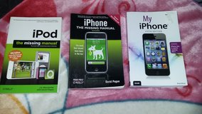 MY IPHONE BOOK, THE MISSING IPHONE MANUAL & THE MISSING IPOD MANUAL in Vacaville, California